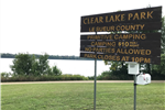 Clear Lake Park Le Sueur County Primitive Camping $10 per night, no parties allowed, park closes at
