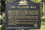 Geldner Saw Mill Marker